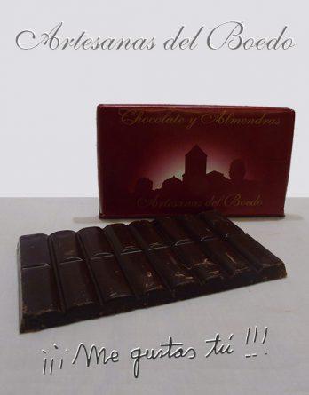Chocolate con Almendras Artesanas del Boedo