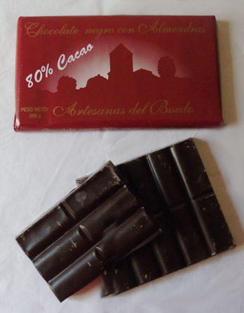 Chocolate Negro con Almendras Artesanas del Boedo