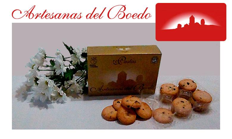 Pastas con Avellana y Chocolate 175 gr. Artesanas del Boedo