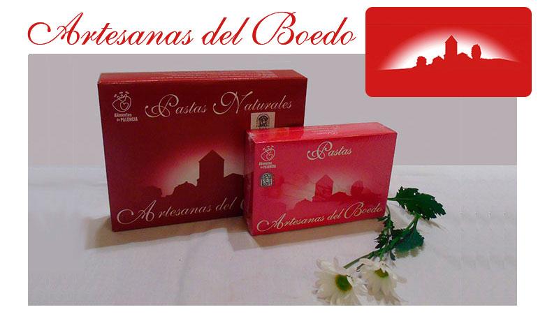 Los dos tamaños de Pastas Naturales Artesanas del Boedo: 175 y 350 gr.