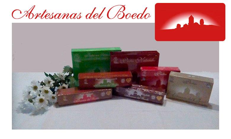 Seis variedades en tres tamaños distintos de Pastas Artesanas del Boedo.