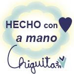Hecho con amor a mano Chiguita
